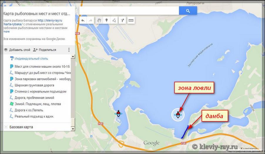 все для рыбалки на карте