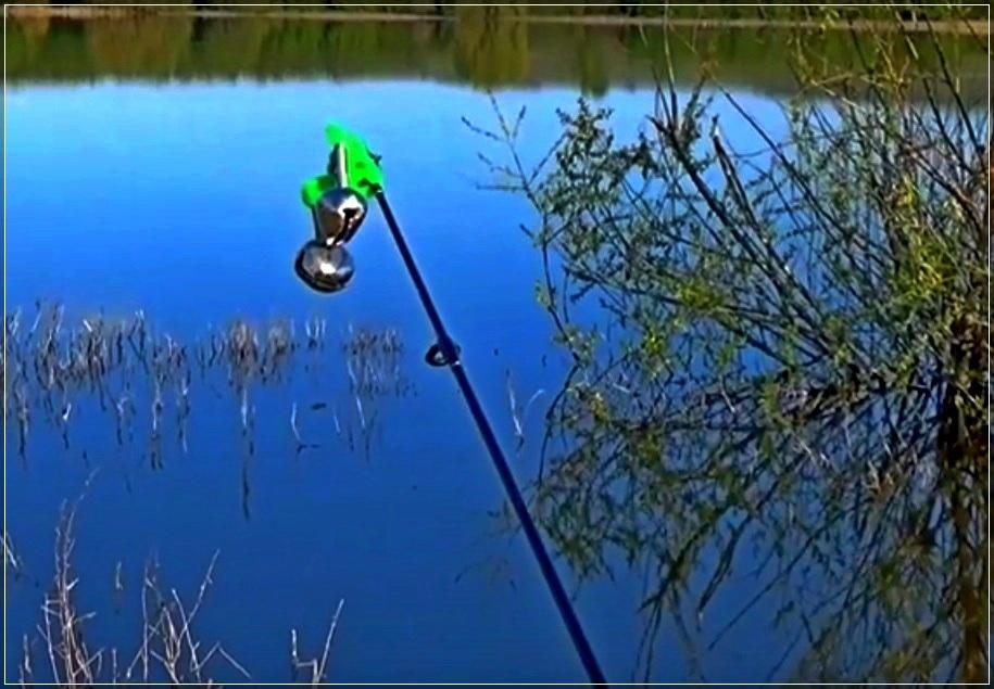 Колокольчик - бубенчик для рыбалки из Китая
