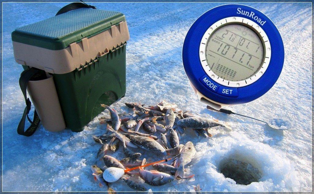 Сравнение рыбацких барометров Капитан и Sunroad Aliexpress