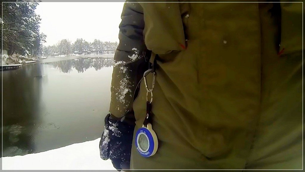 рыбацкий барометр SunRoad SR204 с Алиэкспресс очень хороший подарок рыбаку
