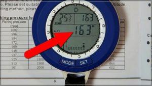 Альтиметр в Sunroad Aliexpress основан на значении измеренного давления